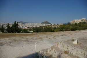 View of Athens from the Pnyx